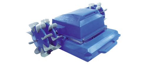 Aquawheel aerator model 4