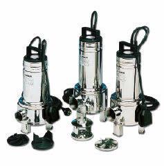DOMO submersible pumps