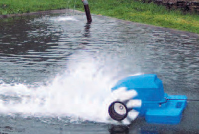 Surface Aerator In Action